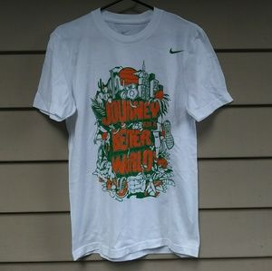 Nike Journey For A Better World T Shirt Small